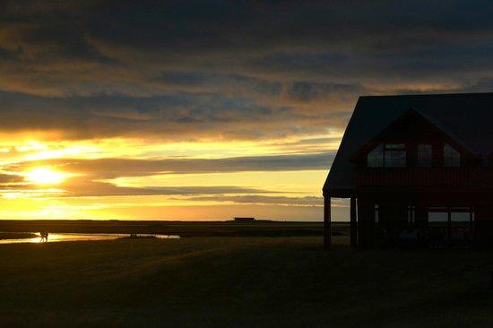 Hella, Iceland: Sunset Stroll at the Ranga