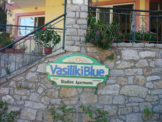 Vasiliki Blue: Fronte Hotel