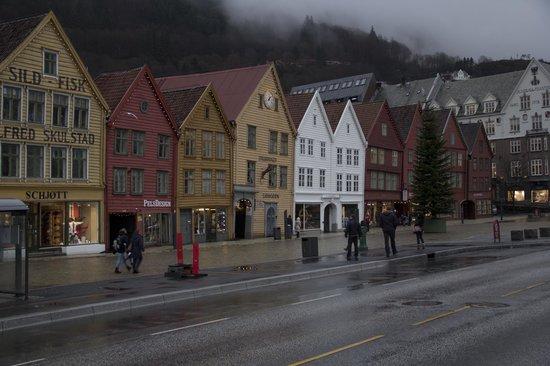 Scandic Byparken : Bryggen di Bergen