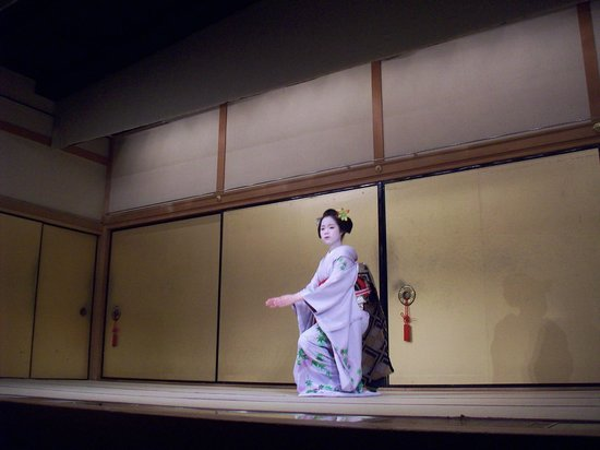 Gion Corner: kyomai danza della geisha