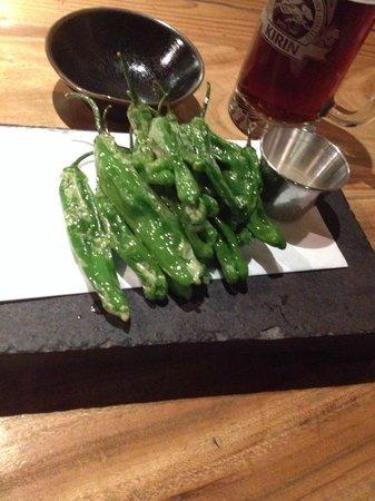Hakata Ippudo NY : shishito peppers