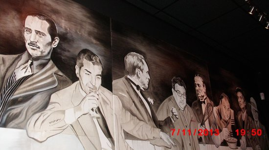 Kitchen Consigliere Cafe: Tough Guys Mural