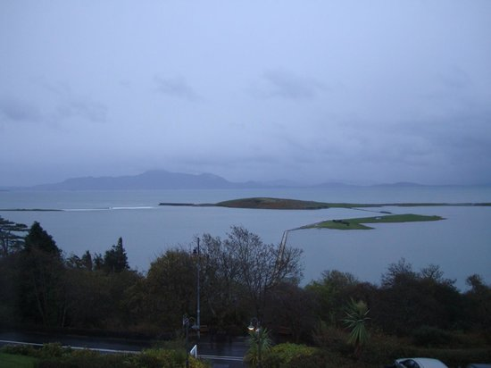 Mulranny Park Hotel : View from our bedroom window
