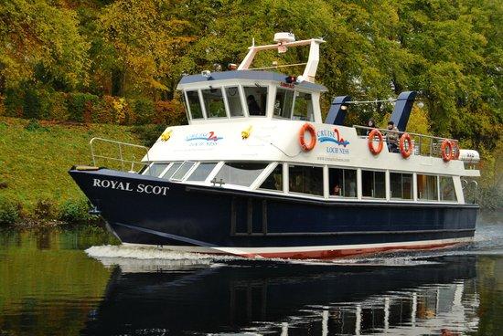 Scozia Tour, Day Tours in Italiano: Traghetto del lago Ness
