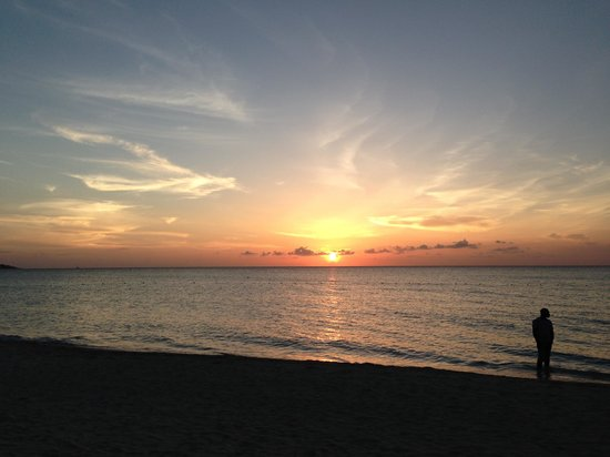 Charela Inn / Le Vendome: Hard to beat a Negril sunset!
