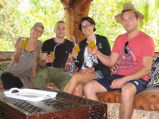 Mangrove Lodge: accoglienza