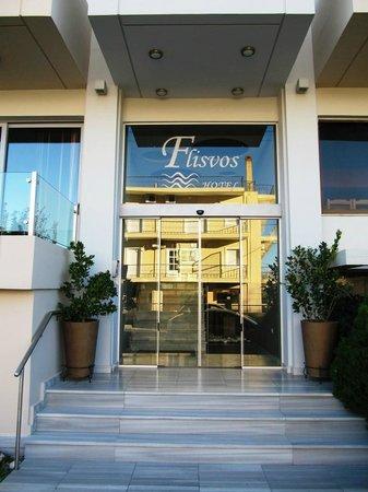 Flisvos Hotel Nafpaktos: Entrance