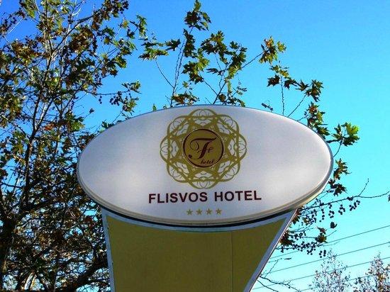 Flisvos Hotel : Sign