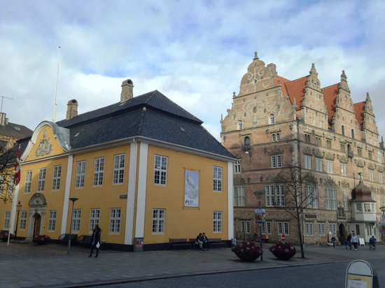 Milling Hotel Gestus, Aalborg : Downtown Aalborg