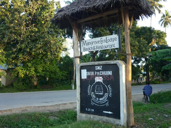 Mangrove Lodge: insegna