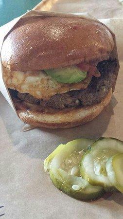 Rodeo Goat: Caca Oxaca burger