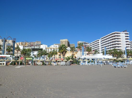 Gran Cervantes by Blue Sea: Hotel from beach