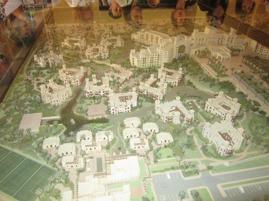 Jumeirah Al Qasr at Madinat Jumeirah: Макет отеля