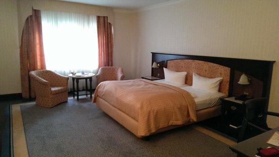 Hotel Villa Weltemuhle Dresden: das Zimmer