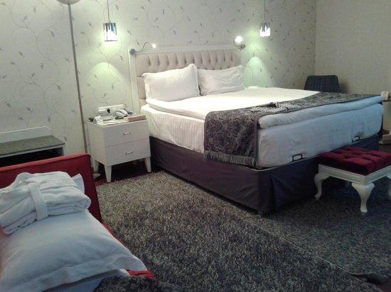 Hotel Amira Istanbul: nice big room