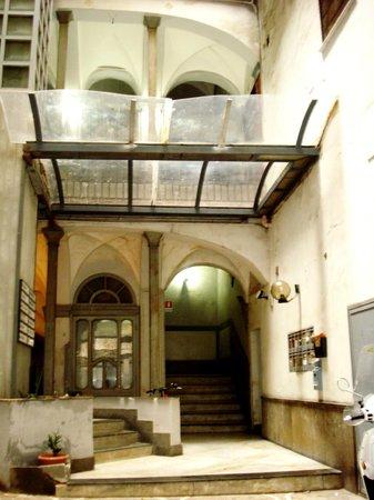 Hotel Santa Brigida: Entrance