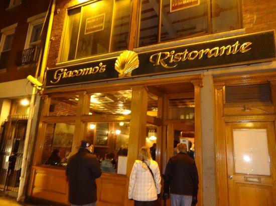 Giacomo's Restaurant: Outside Restaurant