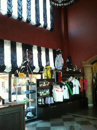 Salles Hotel La Caminera Golf & Spa Resort: Venta de articulos de golf