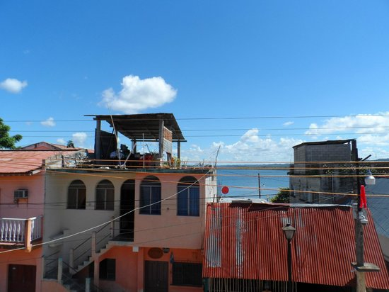 Hostel Yaxha: Aussicht aus meinem Zimmer