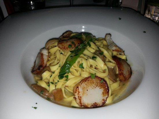 Da Mario Covent Garden: Pasta with scallops!