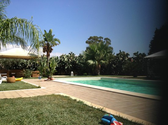 Borgo Pida: Poolarea, luxury to often be on our own here!