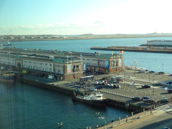 Seaport Boston Hotel: View from Room