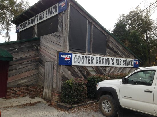 Cooter Brown's Rib Shack: The Shack