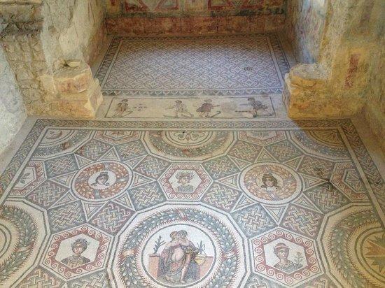 Villa Romana del Casale: mosaic