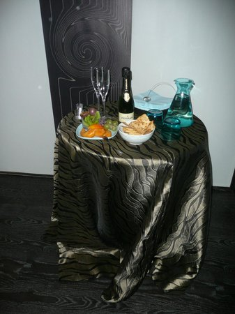 Monticello Spa: Il buffet dopo la Luxury Suite