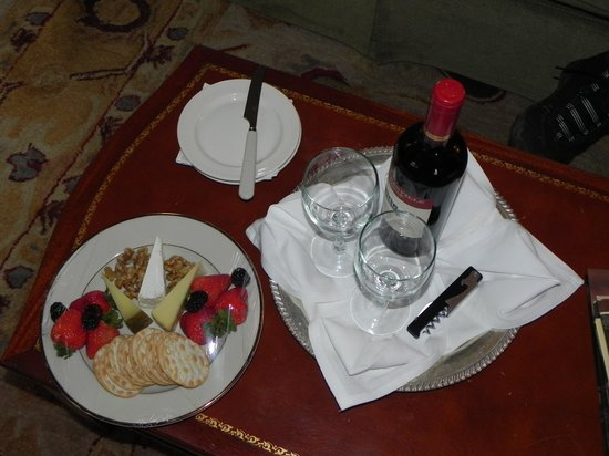 Inn at Meander Plantation: Treat on arrival.