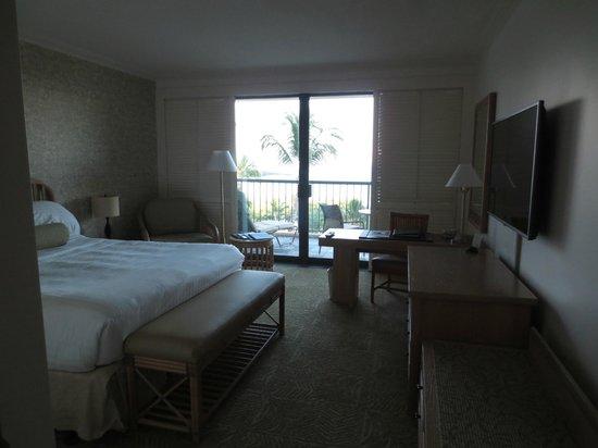 Hapuna Beach Prince Hotel : Our room, King Ocean View