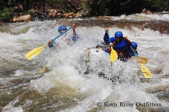 Kern River Outfitters: Early season Upper Kern River trip