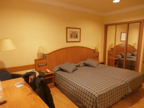 Hotel II Castillas: chambre castillas