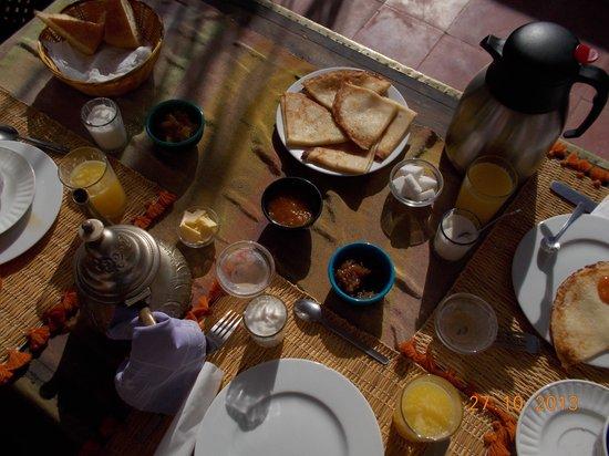 Riad Mariana: breakfast