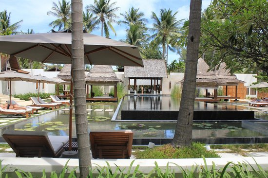 SALA Samui Choengmon Beach Resort: The black pool