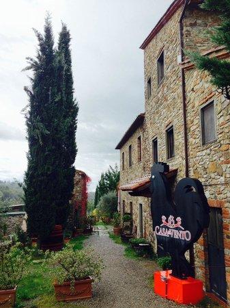 Borgo Casa al Vento: Accoglienza