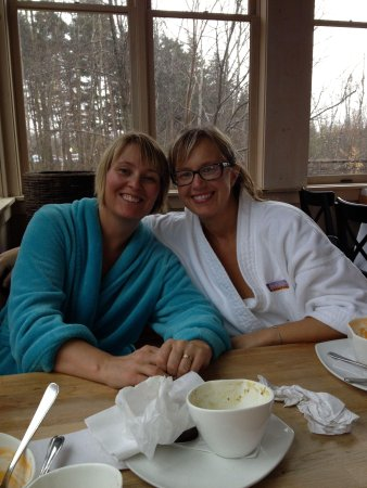 Scandinave Spa at Blue Mountain : 40th bday celebrations at Scandinave
