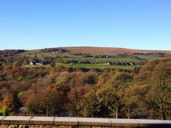 Meadowcroft Barn: The view