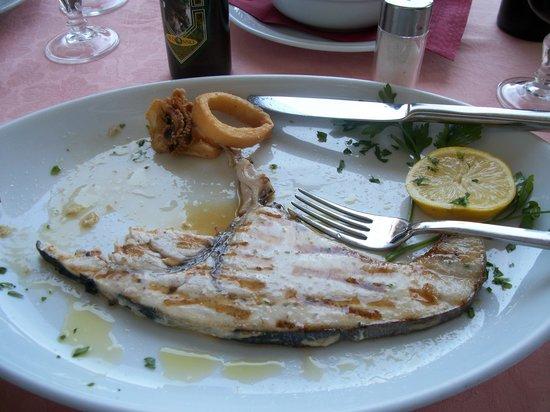 Trattoria La Paranza : I'd order the swordfish again.