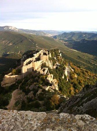 Gites les Casots de Traoucalieres: citadelle du vertige