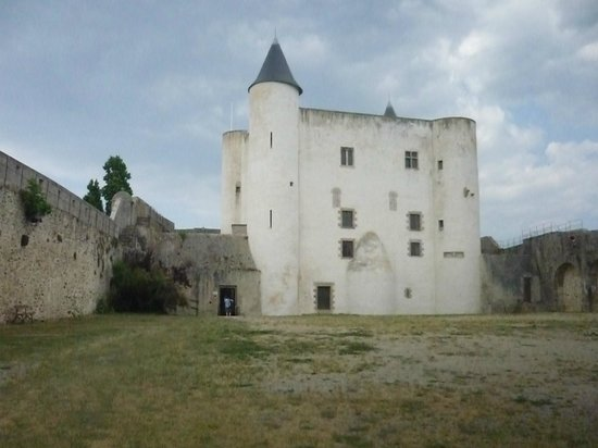 Castle of Noirmoutier en L'isle