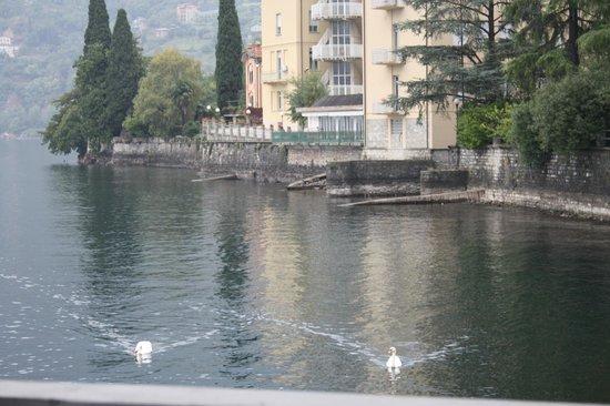 Albergo Ristorante Meridiana: Вид из номера #8