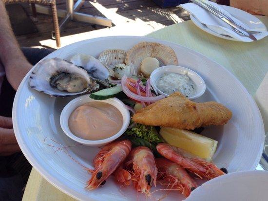 Lure Restaurant & Bar: Seafood platter