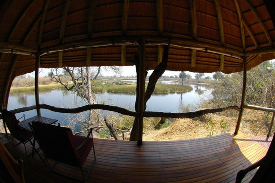 Wilderness Safaris Savuti Camp : view from our room