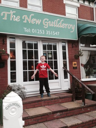 New Guilderoy Hotel Blackpool: At the New Guilderoy