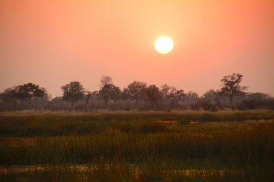 Wilderness Safaris Savuti Camp : Sunset in the Linyanti