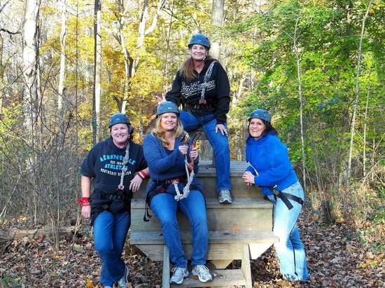 Adventureworks Zip Line Tours : Great time
