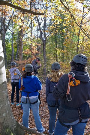 Adventureworks Zip Line Tours: Getting instructions
