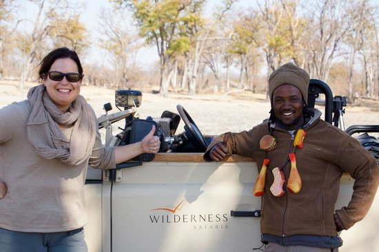 Wilderness Safaris Savuti Camp : Carlton, the best guide