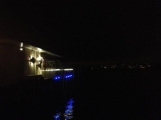 Harbor Lights: Outdoor evening view